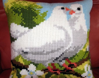 Doves  Quickpoint Pillow