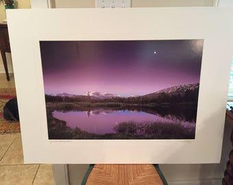 Yosemite National Park Photograph