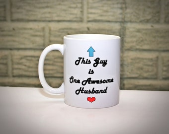 Funny Mug for Husband - Mug Gift for Husband, Gifts for Men, Gift for Him, Gift for Dad, Father's Day Gift, Gift for Hubby, Husband