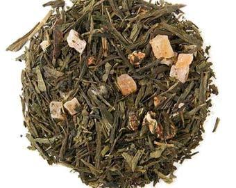 Strawberry Fields Green  - Loose Leaf Tea, Organic