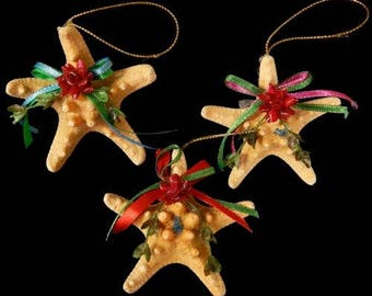 Knobby Starfish Christmas Ornament  (HH1-40)  (EA)