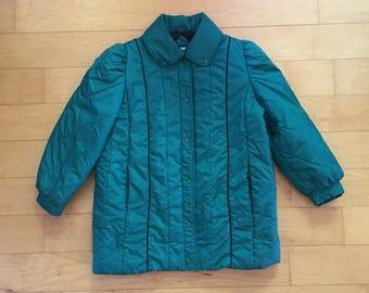 Vintage des années 80 manteau d'hiver neige Puffy veste