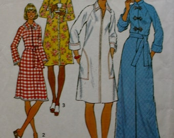 Robes Sewing Pattern Simplicity 7238 Raglan Sleeves