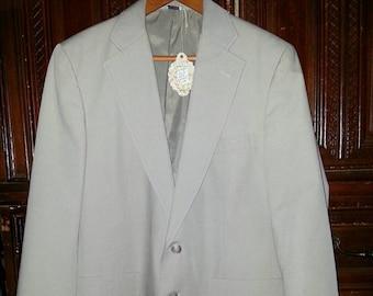 Vintage Mens Tan Blazer Size 36R