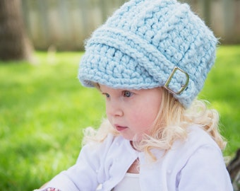 5 Sizes Sky Blue Hat Baby Hat Baby Girl Hat Baby Boy Hat Toddler Hat Toddler Girl Hat Toddler Boy Hat Womens Hat Light Blue Winter Hat