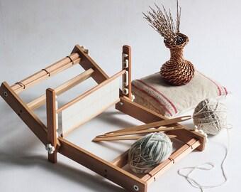 Weaving loom. Table loom. Weaving loom kit. Working section - 40 cm