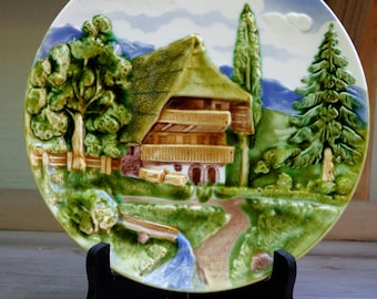 Collectible Germany Relief Plate