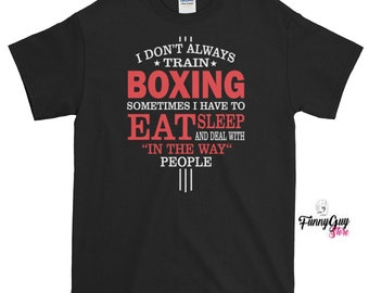 Boxing Lover Tee Boxing T shirt Boxing Teacher Tee Boxing Coach Tee Boxing Training Box Training Tee Love Boxing Tee Birthday Gift