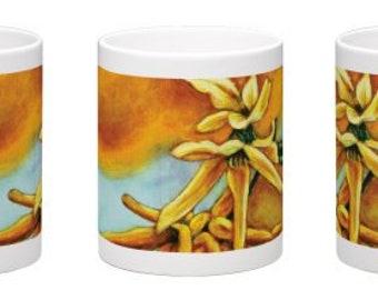 A Burst of Yellow Mug
