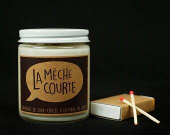 Chandelle de soya - C'est frais! - Fresh scent Soy candle