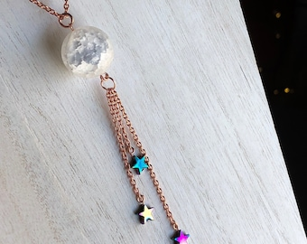 Over the Moon and Stars Necklace
