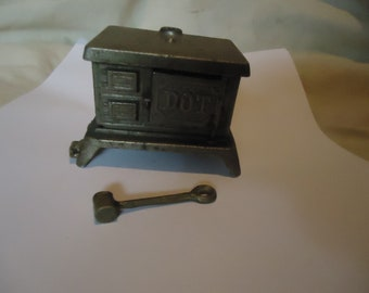 Vintage Metal Kenton Dot Toy Stove or Oven, collectable