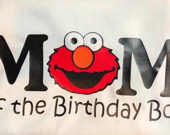 Elmo Mom of the Birthday Boy