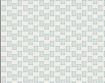 Looming Stone, Bound Fabrics, April Rhodes, Art Gallery Fabric, low volume, loom, blue, gray