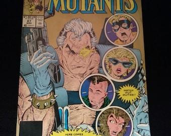 Vintage VG+ 1990 New Mutants #87 (2nd printing)