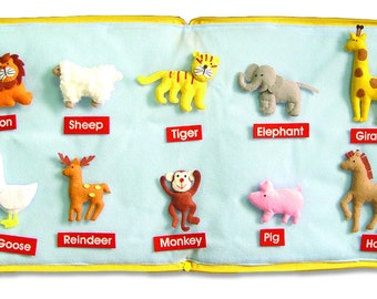 Animal Book  (Soft book  (size : 30x27 cm.))