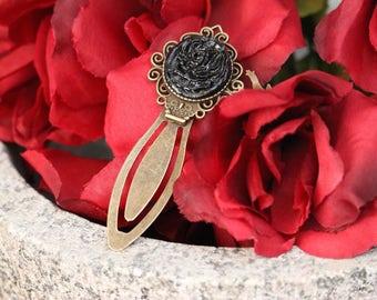 Black Rose Bookmark