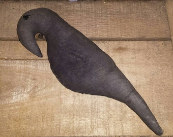 Handmade Primitive Crow Ornie