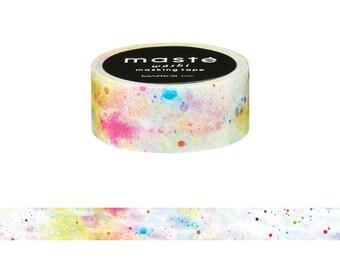 White Cosmic Japanese Maste Washi Tape • City Masté Masking Tape (MST-MKT72-A)
