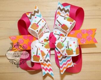 Pommes au caramel, carnaval, Foire, automne, arc de cheveux