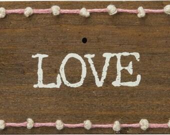 Love Stitched Block/Magnet