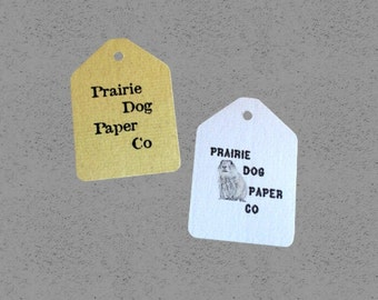 Business tag, personalized, gift tag, set of 50, Wedding Tags, Baby Shower, price tags, 2 x 2 3/4 inches