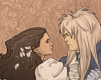 Patreon subscribers only: Labyrinth Postcard