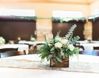 Wedding centerpieces etsy wood centerpiece wedding centerpiece rustic wedding decor table decorations reclaimed wood centerpiece junglespirit Choice Image