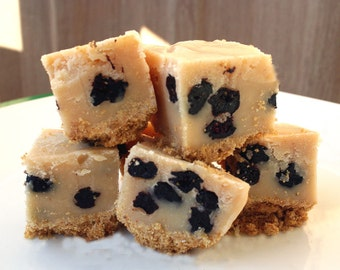 Blueberry Cheesecake  Fudge - 1/2 Pound (About 9 Pieces)