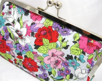 Coupon Organizer Purse Bright Florals