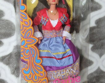 1992 Barbie Dolls of the World  Italy Italian # 2256