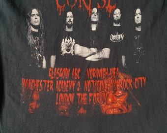 Rare Cannibal Corpse Evisceration Plague concert Tour T shirt