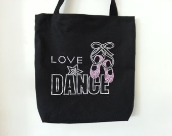 New tutu Dance bag!, Studed Love dance tutu bag, Gift Idea!