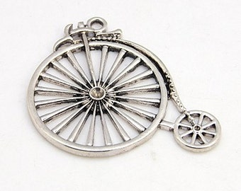 Penny Farthing - Cycling Bike - Set of 4 charms - #HK1178