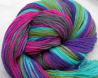 Hand Painted Sock Yarn Superwash Wool/Nylon