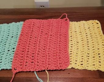 Crochet wash cloths/ dish cloths