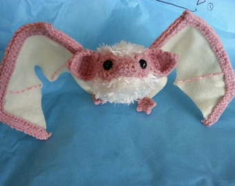 Ghost Bat Realistic Wired Amigurumi Crochet Pattern PDF