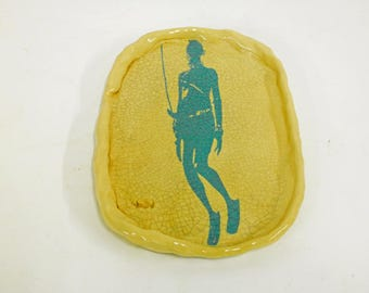 MASAI Plato, crockery, plate, tableware, plate, Africa