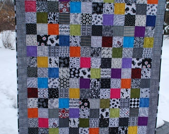 "Lap Quilt - Spring Thaw  48-1/2"" x 62-1/2"""