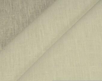 Fabric pure linen ecru