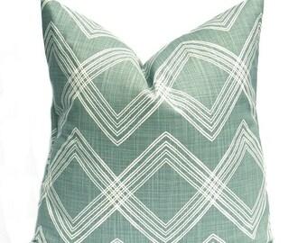 15% Off Sale Green Pillow, Green Pillows, Green Pillow Covers, Turquoise,  Blue Pillow , Blue green Pillow, Accent Pillows, Throw Pillow cov