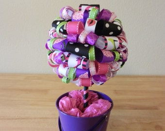 """High Heel Ribbon Topiary """" Girls Night Out"""""""