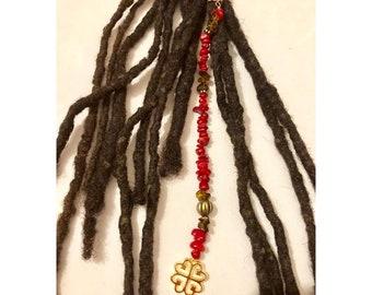 Dangle Bead Loc Jewelry Dreadlock #10