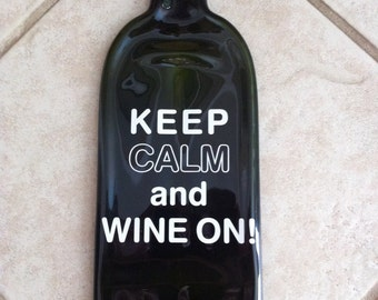 FREE SHIPPING! Wine Bottle Plaques