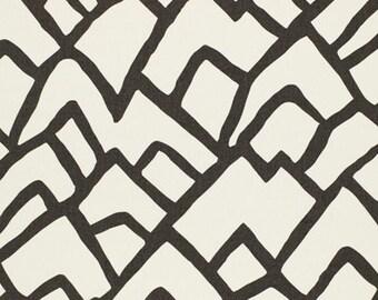 Zimba in Charcoal, Grey Pillow, Abstract Pillow, Geometric, Neutral Pillow, Designer Pillow, Modern Pillow, Modern Decor, Spring, Schumacher