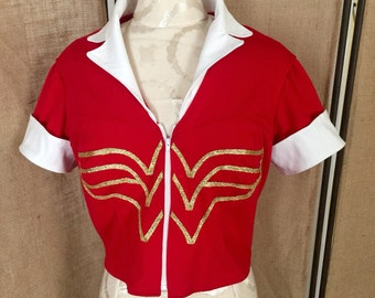 Wonder Woman Vintage Bombshell top