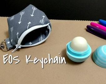 EOS Lip Balm Keychain Arrows