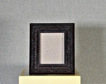 2 1/2 x 3 Frame Mini Frame Brown Ornate with UltraVue® UV70 Glass