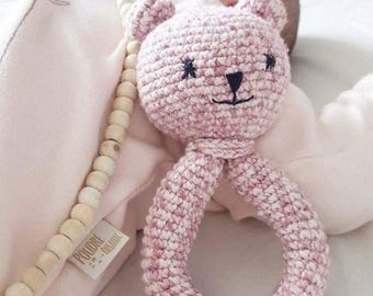 The crochet Baby Rattle