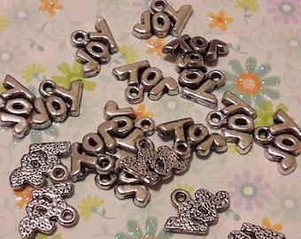 JOY - set of 20 charms